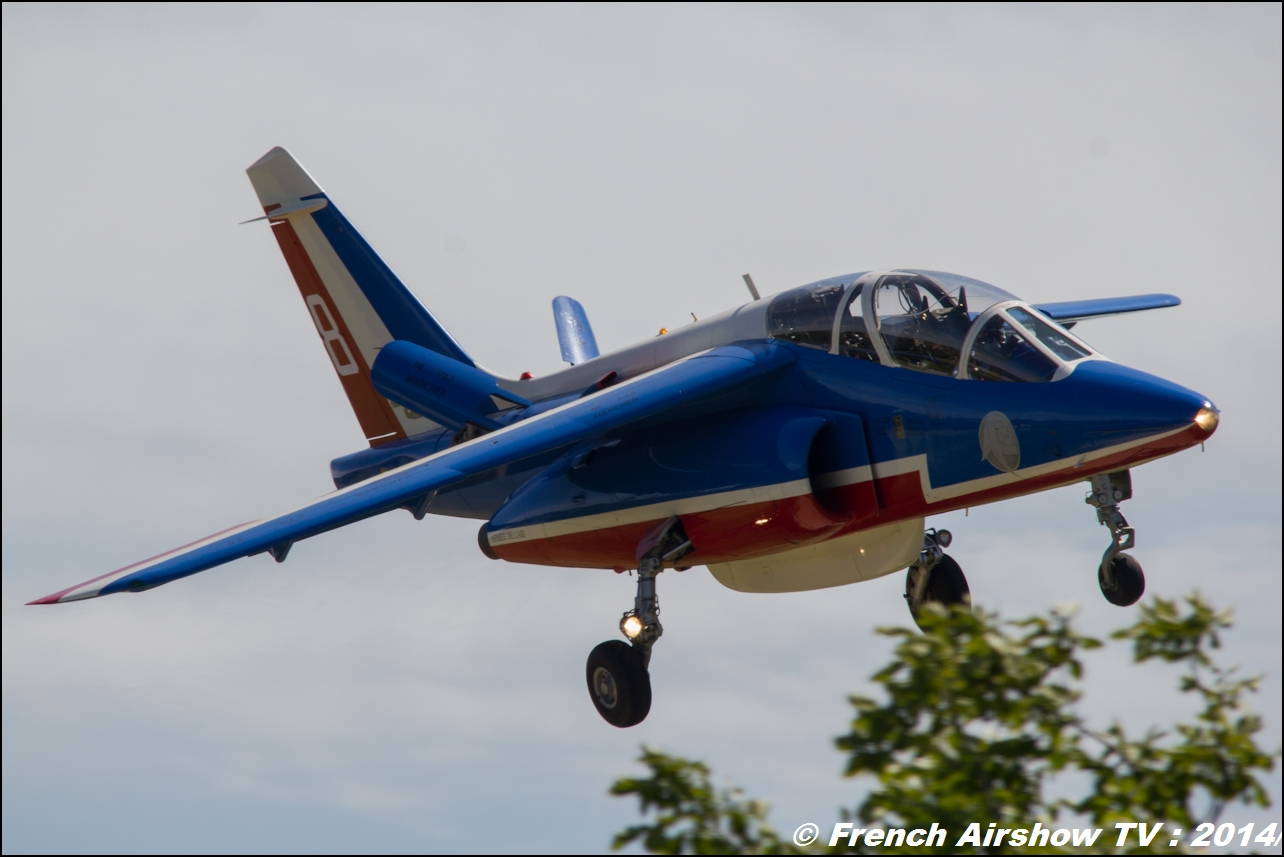 Patrouille de France Meeting Aerien 2014