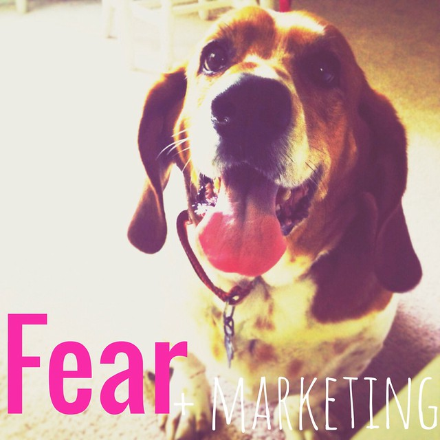 Fear + Marketing - A podcast episode on TaraSwiger.com