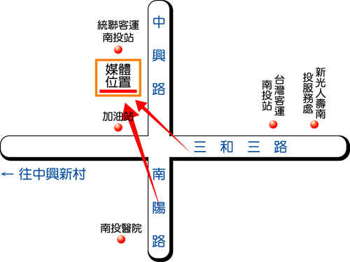 南投市中興路 (加油站旁)map