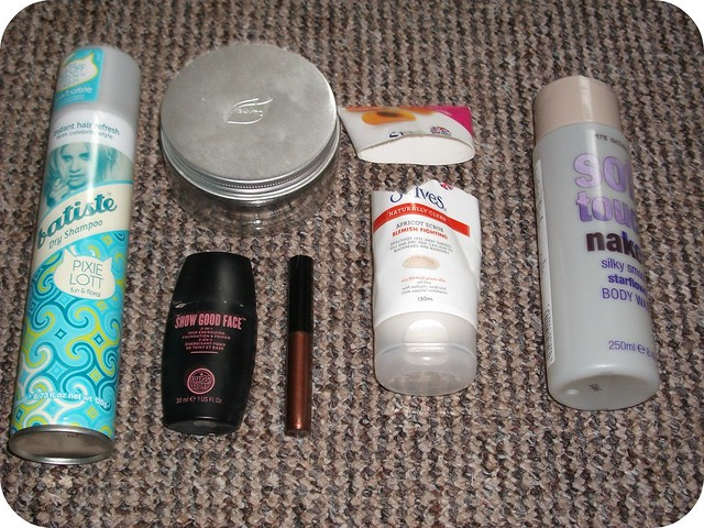 May 2014 Empties 2