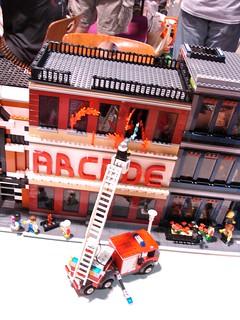 Maker Faire NC: NCLUG Arcade Fire