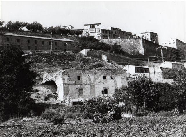 Ruinas del Convento de San Pablo del Granadal en 1972. Foto Villasante