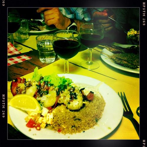 Dinner in Marseille