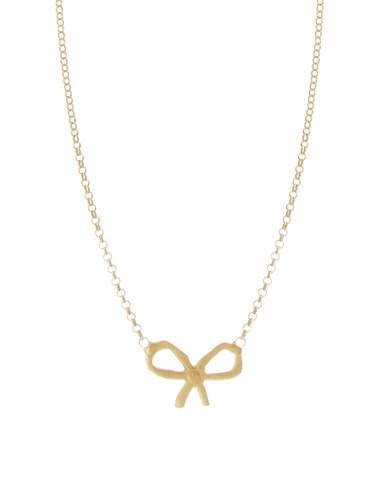 bow necklace asos