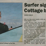 Jeff Rowley Big Wave Surfer Geelong Advertiser 10 April 2012 Xvolution Media