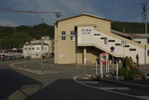 近江鉄道米原駅の旧駅舎