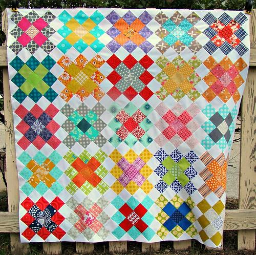 SewCraftyJess: Granny Squares quilt top