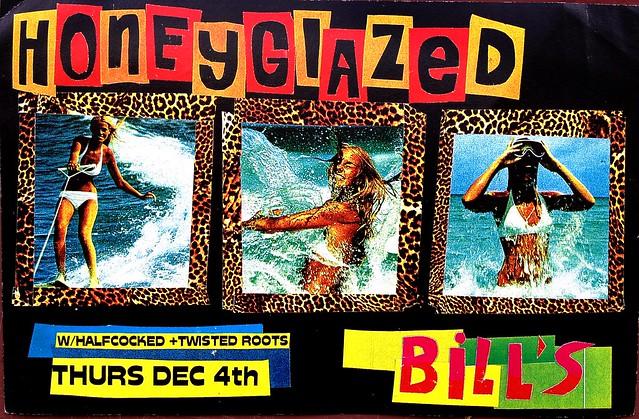 Honeyglazed at Bill's Bar