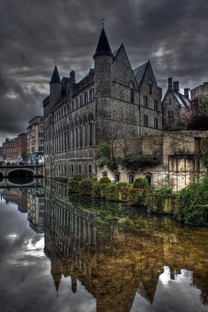 0282 - Belgium, Ghent, Gerard De Duivelsteen HDR