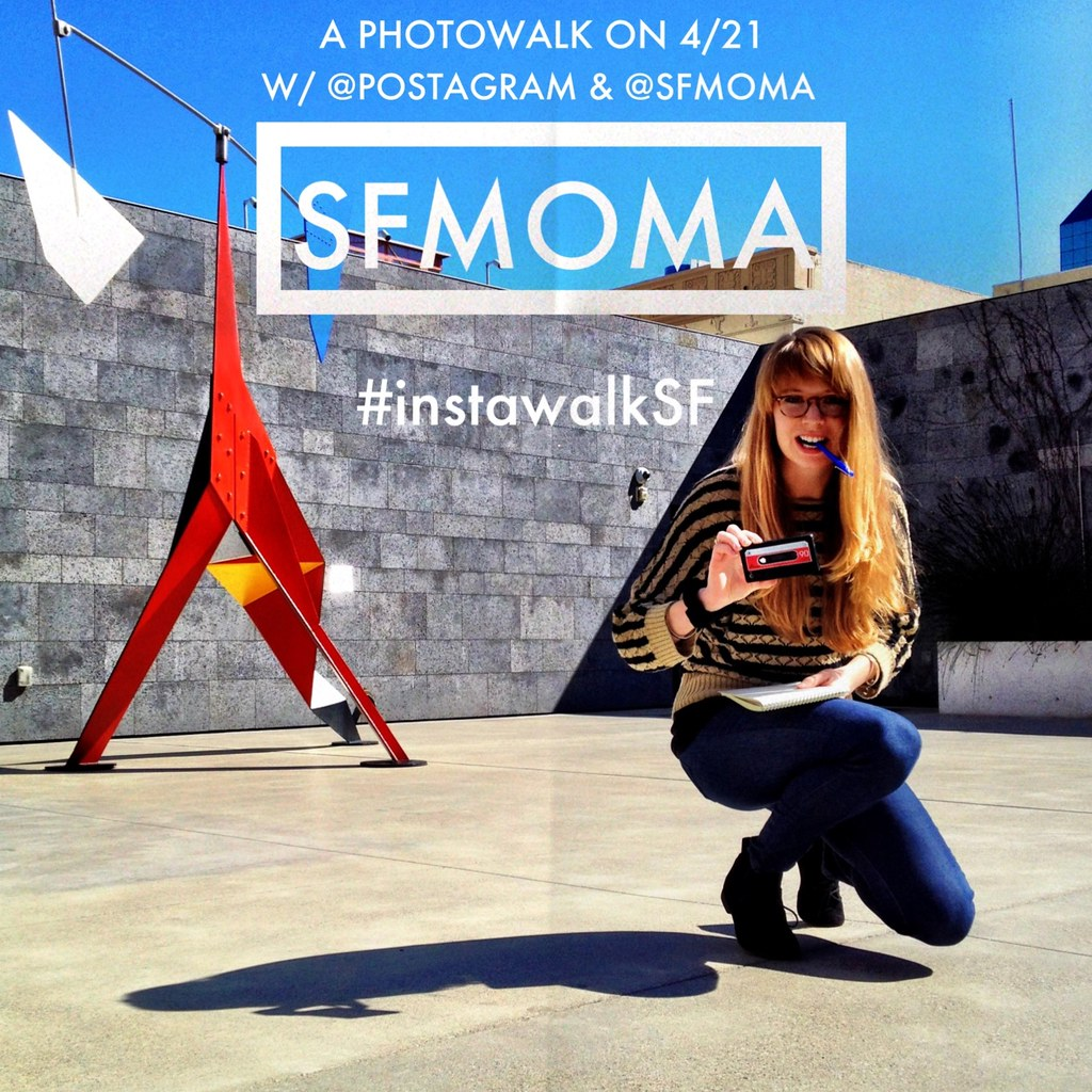 InstawalkSF at the SFMOMA