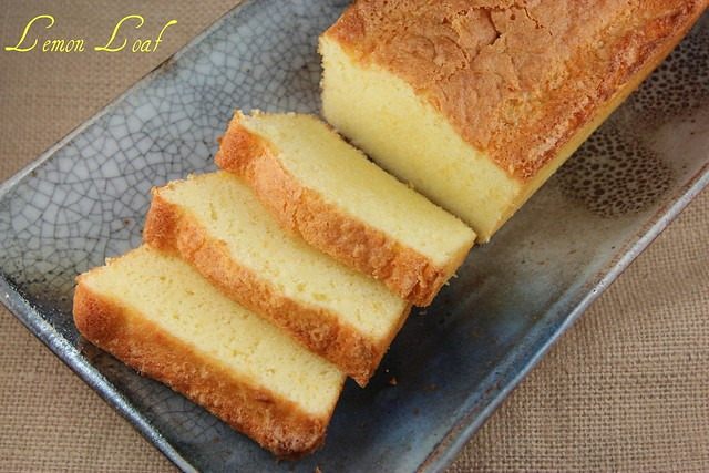 Lemon Loaf - Tuesdays with Dorie BwJulia