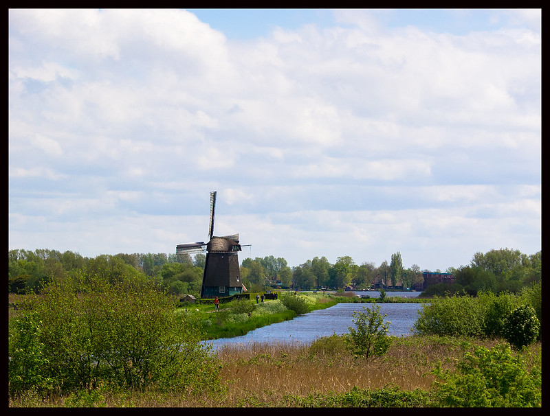 Nice view - windmill