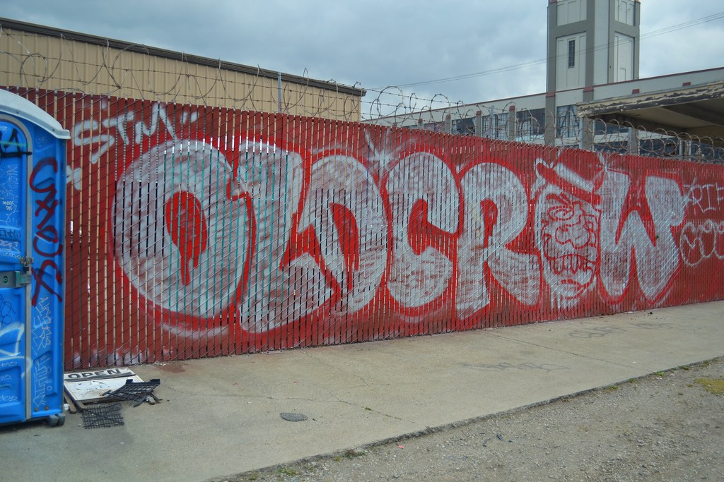 OLD CROW, STM, Graffiti, Street Art, Oakland