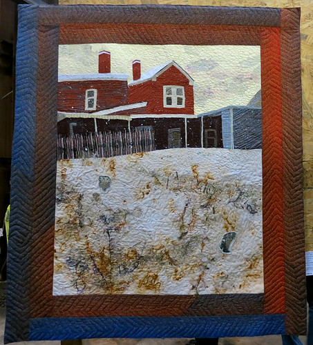 AAN 010 Not So Empty Lot by Martha Ressler - Art Quilt