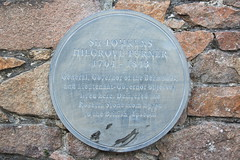 Photo of Tomkyns Hilgrove Turner grey plaque