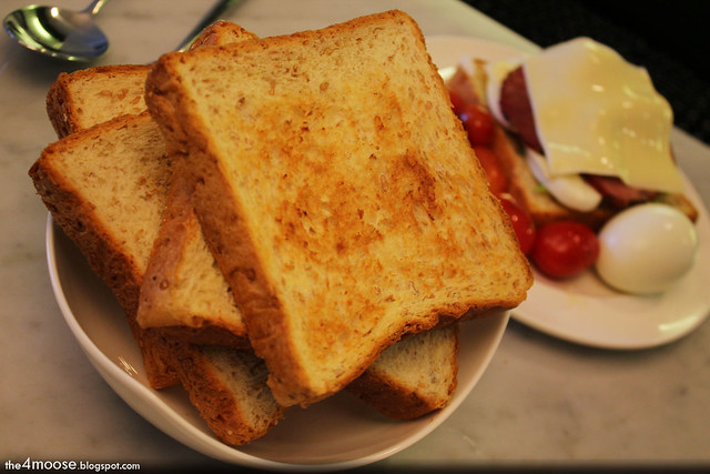 Anantara Bangkok Sathorn - Toasted Bread