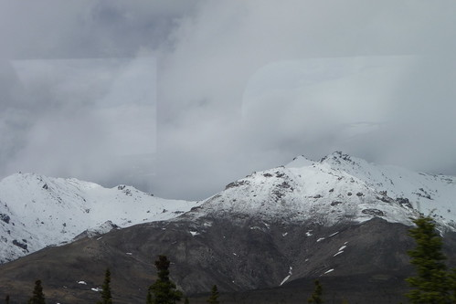Mountains on a gray day