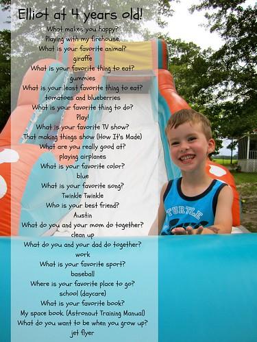 Elliot birthday quiz