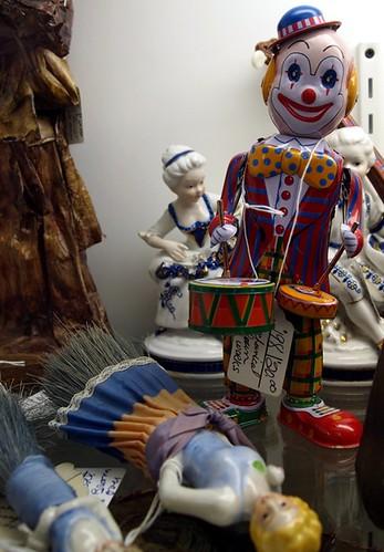 Little drummer clown