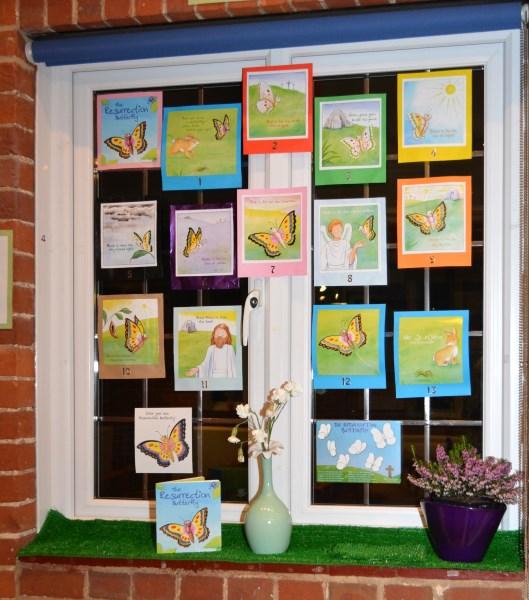 Easter windows 2014
