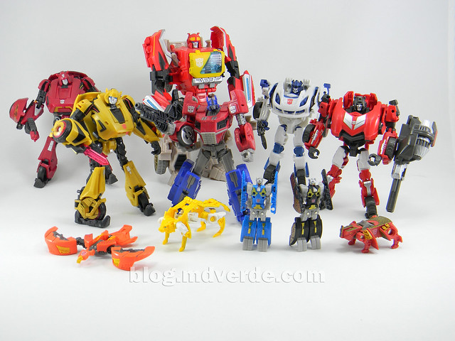Transformers Sideswipe Deluxe - Generations Fall of Cybertron Edition - modo robot vs otros Fall of Cybertron