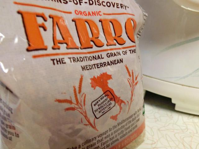 Love me some farro