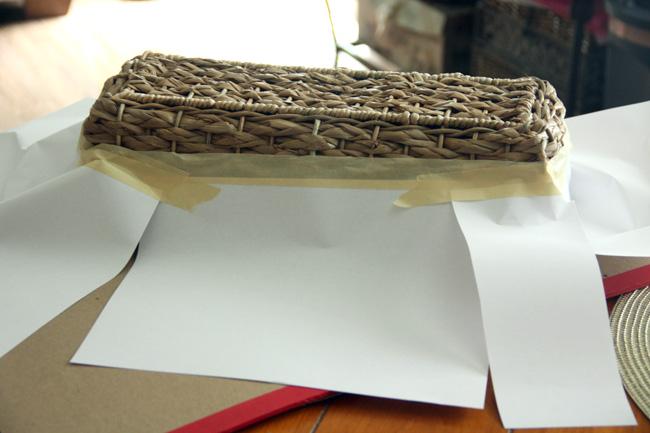 Tape-basket