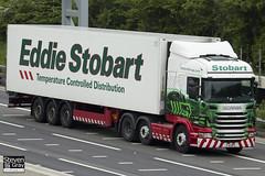 Scania R440 6x2 - PJ11 DPK - Jessica Lily - Eddie Stobart - M1 J10 Luton - Steven Gray - IMG_0281