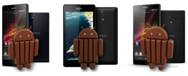 Android 4.4 для Xperia Z