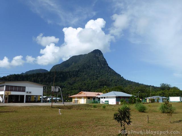 Santubong 28 Mountain from Kampung Santubong