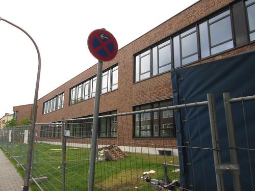 Die Augustin-Wibbel-Schule in Roxel wird derzeit im Erdgeschoss zu einer Kindertagesstätte umgebaut