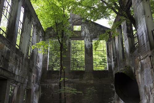 green landscape ruins decay gatineau meech