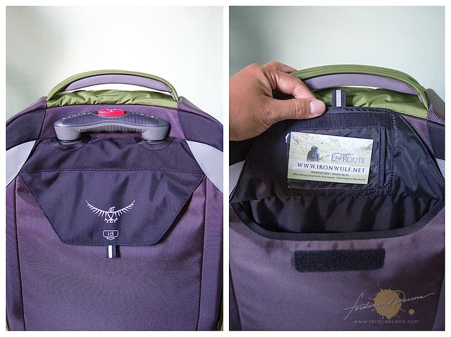 Rear pocket with ID Flap