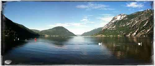 Lake Lugano Italy - Meer van Lugano Italie - Lago di Lugano -