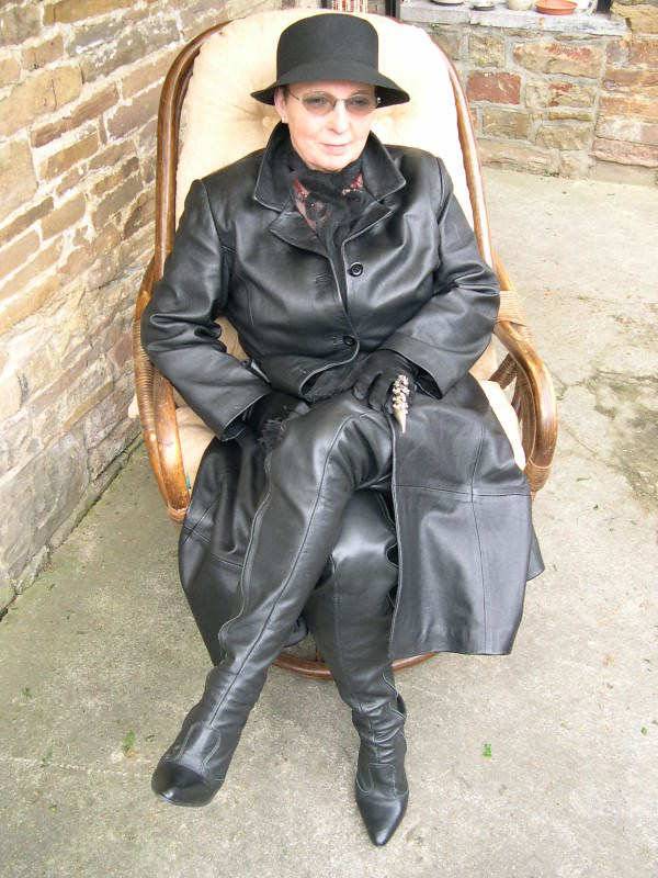 Granny In Leather