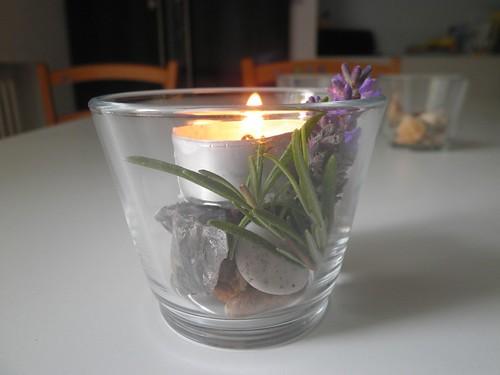candelina sassi e aromi