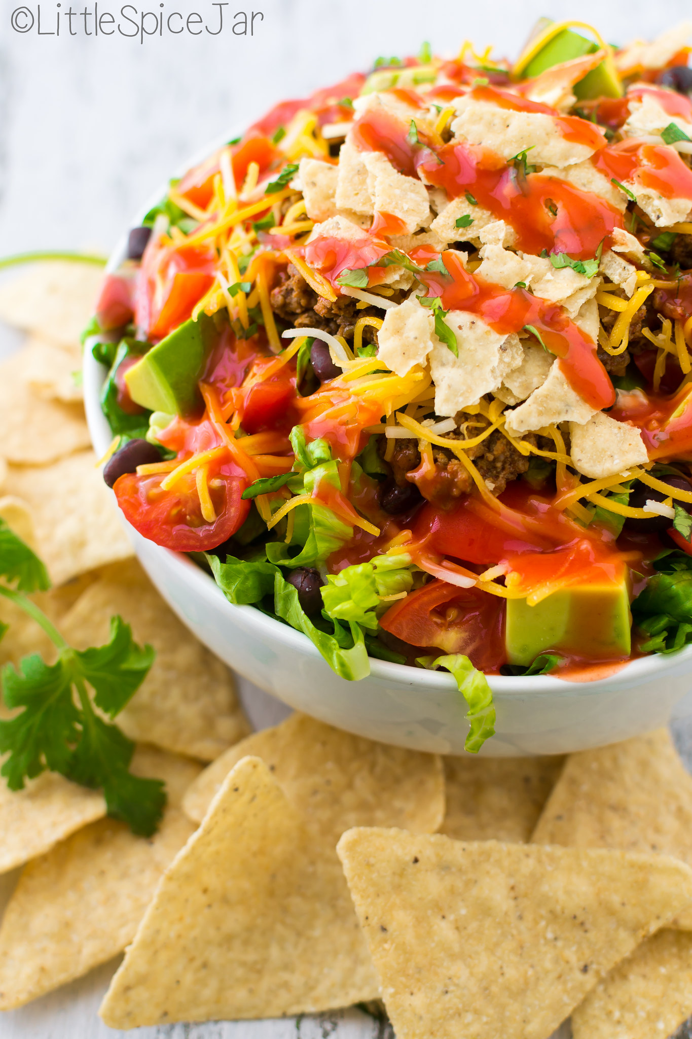 quick + easy Taco Salad