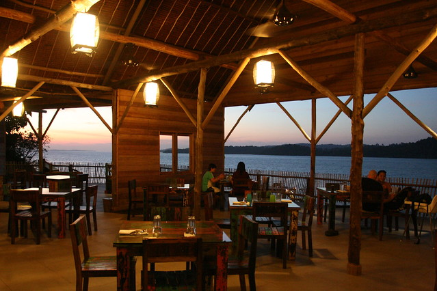 What's best is you get to enjoy the spectacular sunset while dining