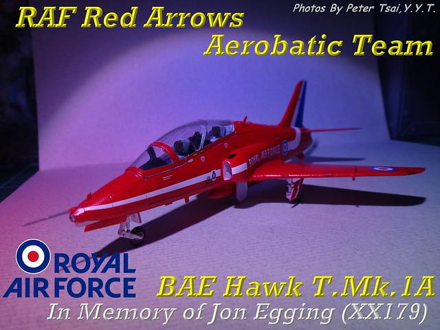 1/72 Hawk T.Mk.1A 紅箭表演隊