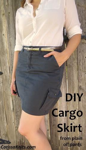 DIY Cargo Skirt
