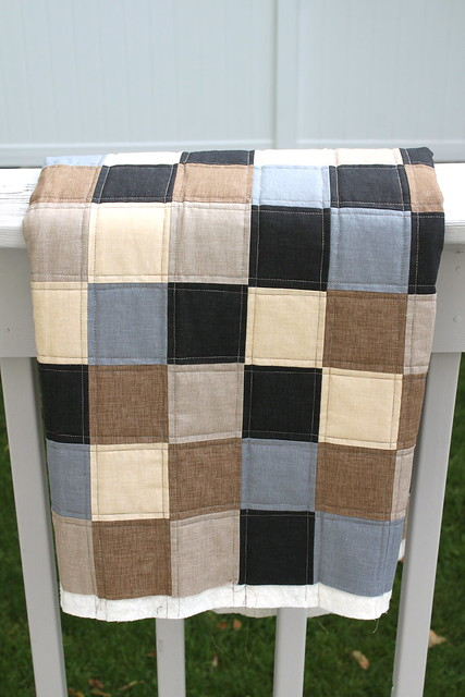 It's a Man's World lap quilt