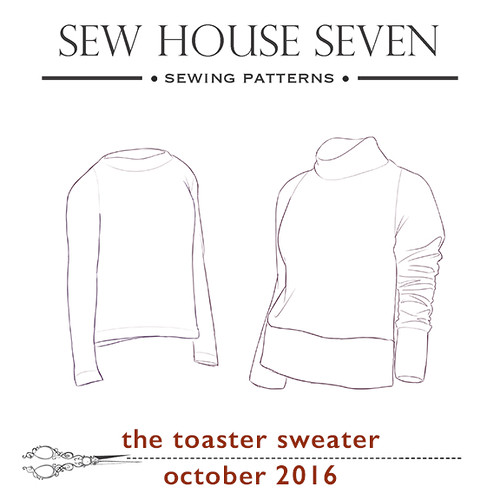 Toaster Sweater Sew-Along: October 10th