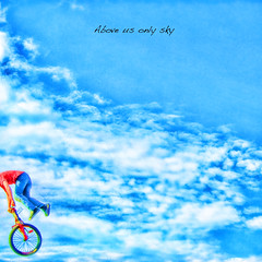 B I C Y C L E .. I want to ride my bicycle bicycle bicycle