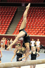 TWU Gymnastics [Beam] Brittany Johnson