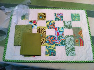 Placemat Quilt Swap Received