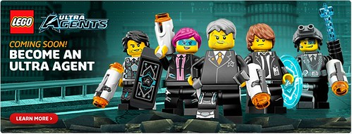 LEGO Ultra Agents Minifigures