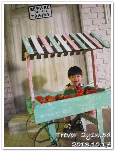 賣蘋果的小人