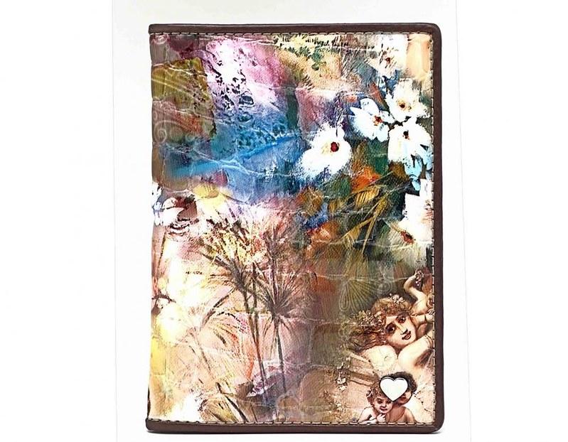 Женская кожаная обложка для паспорта, коллекция СВ 3171