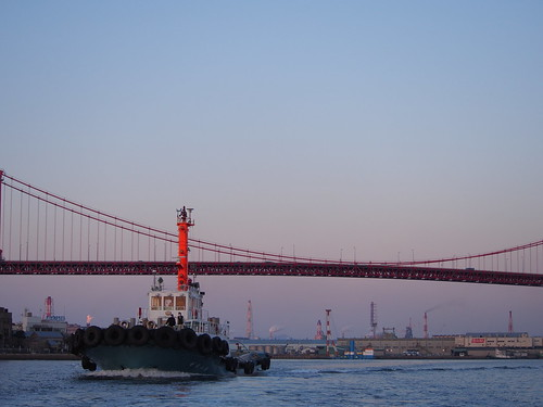 bridge japan bay ship olympus fukuoka omd kitakyusyu 40150mm f456 em5 mzuiko dokaibay