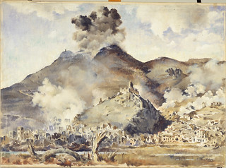 Peter McIntyre, Bombing of Cassino Monastery and town, May 1944